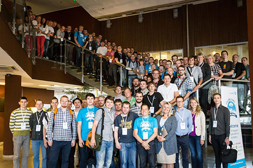 DrupalCamp Baltics group photo